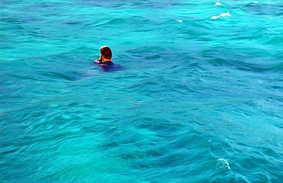 Snorkeling Digital Art - Moorea Snorkeling Adventure by Gabriel Jeane