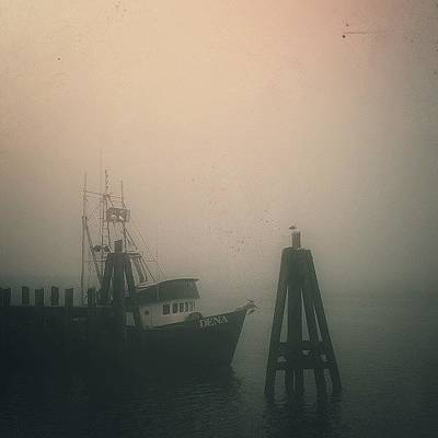 California Wall Art - Photograph - Moored II by CML Brown