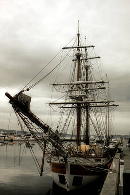 Photograph - Moored In Hobart by Michael Creamer