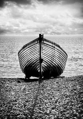 Kent Photograph - Moored by Mark Rogan