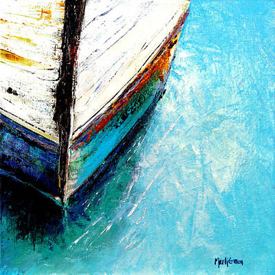 Moored Art Print by Marti Green