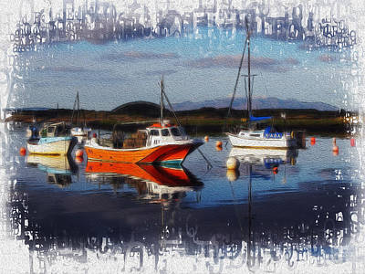 Photograph - Moored Up by Fiona Messenger