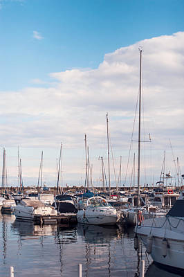 Photograph - Moored Yachts Viii. For Yachts Lovers. Benalmadena Puerto Marina by Jenny Rainbow