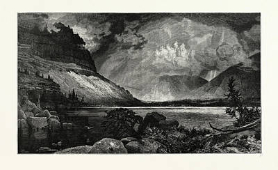 Moores Lake, Utah.  Thomas Moran February 12 Art Print by American School