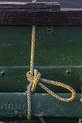 Art Print featuring the photograph Mooring Hitch by Marty Saccone