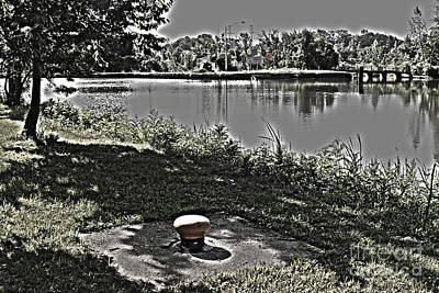 Photograph - Mooring On The Erie Canal by William Norton