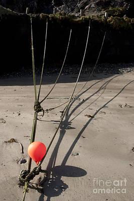 Photograph - Mooring Rope 4 by Paul Felix