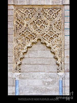 Moorish Decorative Art Art Print by Heiko Koehrer-Wagner