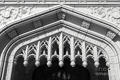 Photograph - Moorish Doorway Bellingham Washington by John  Mitchell