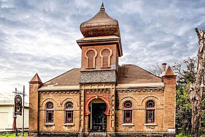 Photograph - Moorish Synagogue by Maria Coulson