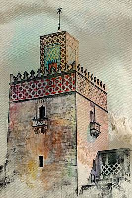 Photograph - Moorish Tower by Marcia Lee Jones