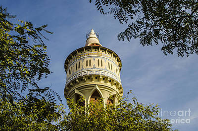 Photograph - Moorish Water Tower Closeup by Deborah Smolinske