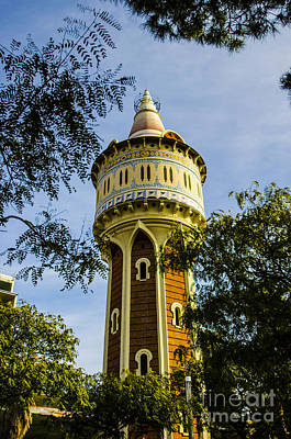 Photograph - Moorish Water Tower by Deborah Smolinske