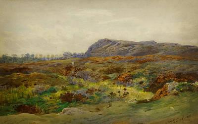 Moorland Landscape Art Print by Celestial Images