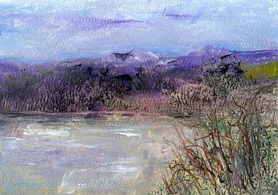 Painting - Moorland View 1 by Carol Rowland