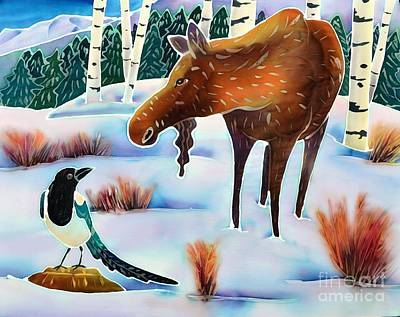 Moose And Mappie Original by Harriet Peck Taylor