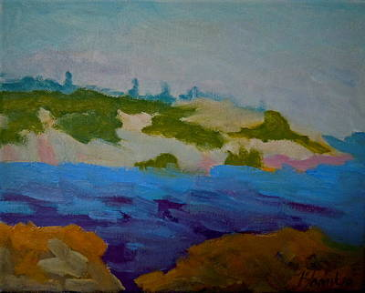 Art Print featuring the painting Moose Island - Schoodic Peninsula by Francine Frank