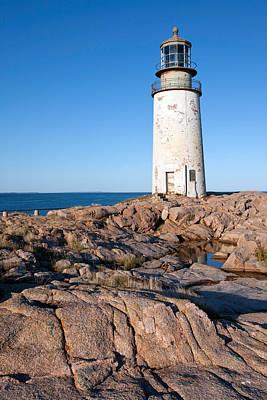 Maine Landscape Photograph - Moose Peak Lighthouse by Susan  Degginger