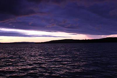 Moosehead Lake Sunset Art Print by Ryan Hord