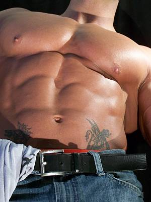 Photograph - Mountain Of Muscle by Jake Hartz