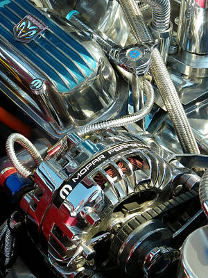 Mopar In Chrome Art Print