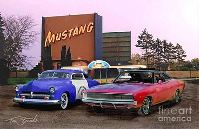 Mopar Way  Art Print by Tom Straub