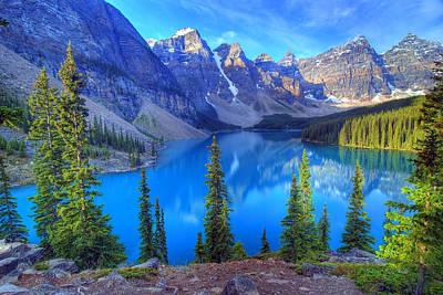 Moraine Lake And Valley Of The Ten Peaks Original