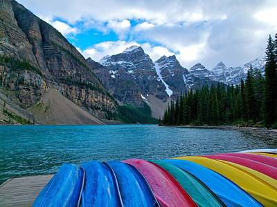 Moraine Lake Calling Art Print