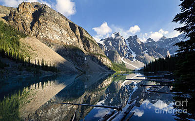 Photograph - Moraine Lake by Dennis Hedberg