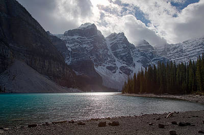 Photograph - Moraine Lake by Kim Aston
