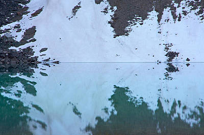 Photograph - Moraine Lake Rorschach Test by Stuart Litoff