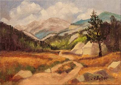 Painting - Moraine Park by Ruth Soller