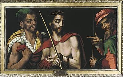 Morales, Lu�s De 1515-1586. Christ Art Print