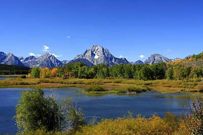 Photograph - Mount Moran, Grand Teton National Park, Wyoming  by Aidan Moran