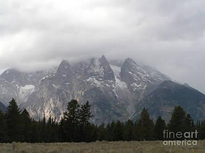 Sandra Williams Photograph - Moran Mountain In The Grand Tetons by Sandra Williams