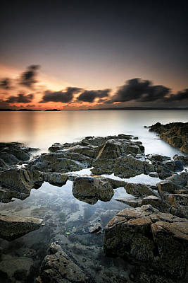 Photograph - Morar Sunset by Grant Glendinning