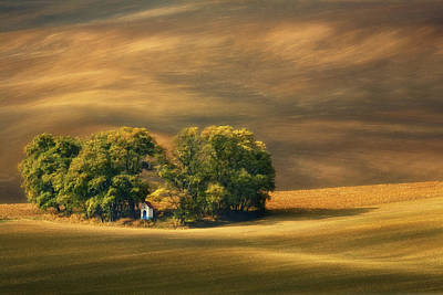 Czech Republic Photograph - Moravian Fields... by Krzysztof Browko
