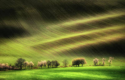 Czech Republic Photograph - Moravian Fields by Piotr Krol (bax)