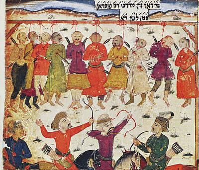 Safavid Painting - Mordecai by Granger