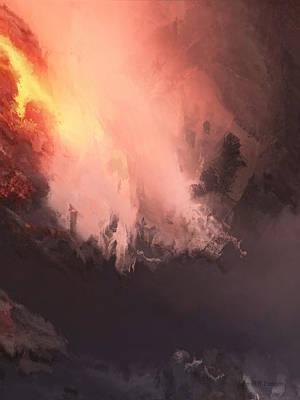 Painting - Lava by John WR Emmett