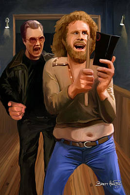 More Cowbell Art Print by Brett Hardin