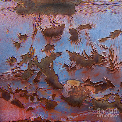Photograph - More Painted Desert Abstract Square. by Lee Craig