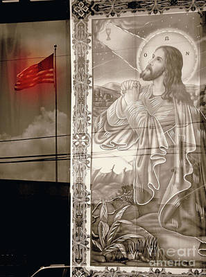 More Prayers For The Nation Art Print by Joe Jake Pratt