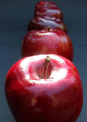 Photograph - More Red Apples by Helene U Taylor