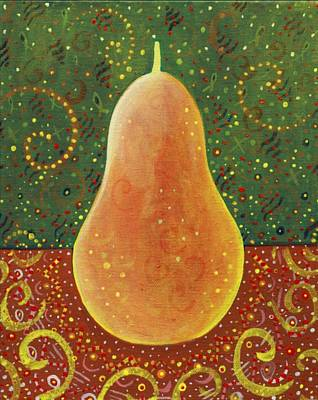 Painting - More Than A Pear by Helena Tiainen