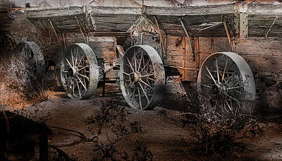 Photograph - More Wagons East by Gunter Nezhoda