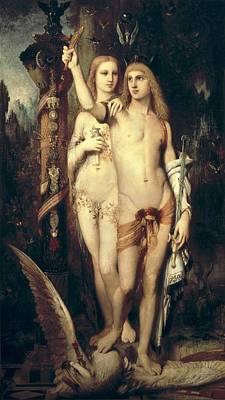 Male And Female Nude Photograph - Moreau, Gustave 1826-1898. Jason by Everett