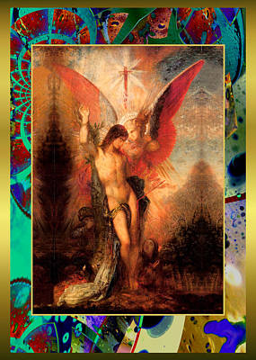 Painting - Moreau Innovative Angel by Robert Kernodle