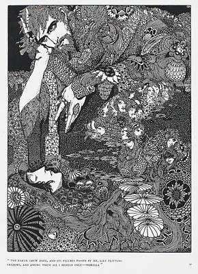 Morella Art Print by British Library