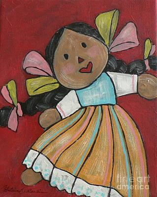 Muneca Painting - Morena by Catalina Rankin